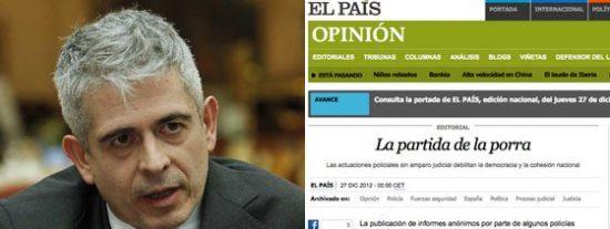 """El País se lanza a la yugular de El Mundo y La Gaceta: """"Agitadores y cavernarios"""""""