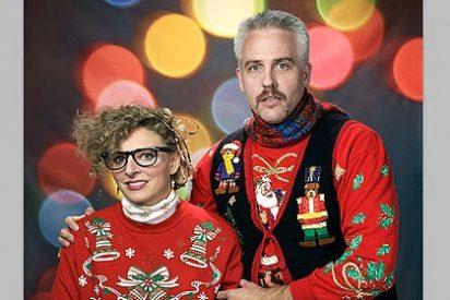 La fiesta de los jerseys feos de Navidad, última moda en EEUU