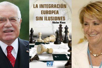 Aguirre y Klaus defienden el Estado nación como garantía de las libertades frente a los 'eurócratas'