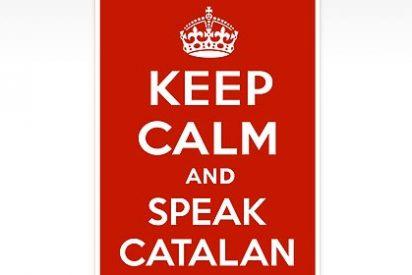 """Los nacionalistas estrenan nuevo logo contra la ley de Wert: """"Keep calm and speak catalan"""""""