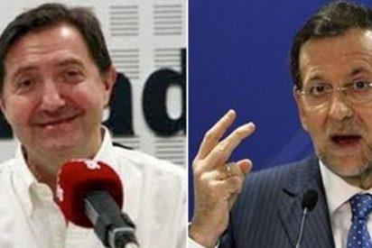 """Jiménez Losantos: """"Rajoy guarda seguramente para el Gara su artículo sobre la Constitución de 2013"""""""