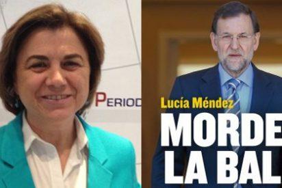 """Lucía Méndez: """"Fue chocante que Rajoy, tras pedir el rescate, reconociera que se iba al fútbol porque le daba la gana"""""""