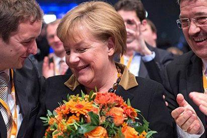 El centroderecha alemán se entrega con armas y bagajes a Frau Merkel