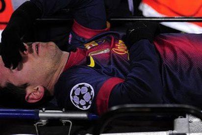 Messi encendió todas las alarmas en el Barça, pero su 'lesión' quedó en un susto