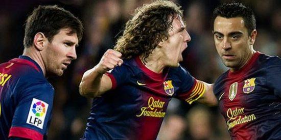 El Barça renueva a Messi hasta 2018 y a sus capitanes, Puyol y Xavi, hasta 2016