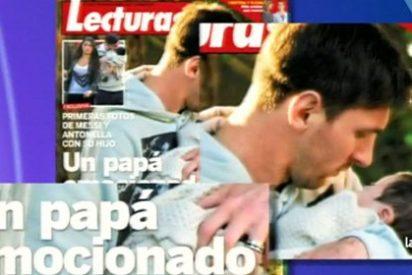 Primeras imágenes de Leo Messi con su hijo Thiago