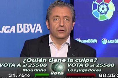 La audiencia de 'Punto Pelota' cree que la culpa de la crisis del Real Madrid es de los futbolistas