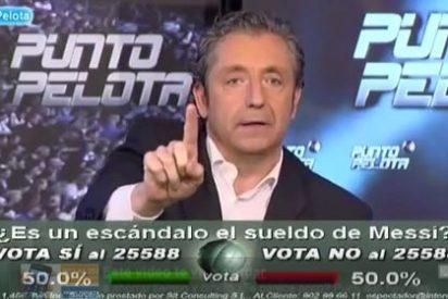 """Josep Pedrerol se mosquea con el realizador: """"Si mañana no está el equipo habitual de 'Punto Pelota' yo no hago el programa"""""""