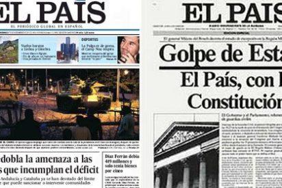 El País ignora hoy una Constitución que antaño reclamaba con pasión