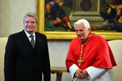 El Papa reflexiona sobre la crisis económica con el presidente de Alemania en el Vaticano