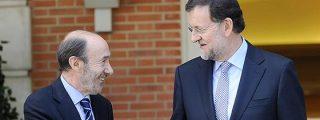 ¿De qué hablan cuando hablan en secreto Rajoy y Rubalcaba?
