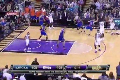 Vídeo: Sacramento Kings vs New York Knicks, el desenlace más emocionante de 2012 en la NBA