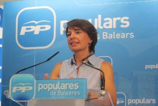 """La futura presidenta del Parlament también da la cara por Rotger: """"Su dimisión le honra"""""""