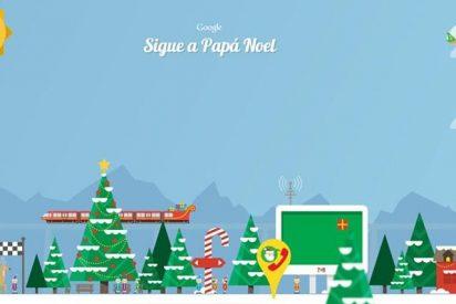 Siga el recorrido de Papá Noel
