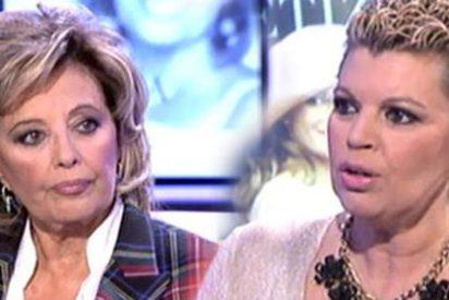 """Intenso momento en el que Jorge Javier Vázquez y Terelu hablan de por qué Mª Teresa Campos no va a regresar a 'Sálvame': """"Lo he pasado muy mal"""""""