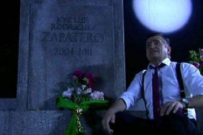 'El Intermedio' alcanza sus 1.000 programas con un Wyoming compungido ante la tumba de Zapatero