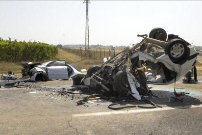 1.304 personas fallecieron en las carreteras españolas durante 2012