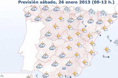 24 provincias españolas, en alerta por viento, nieve, aludes o fenómenos costeros