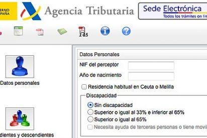 La web de la Agencia Tributaria ya permite calcular las retenciones del IRPF para 2013