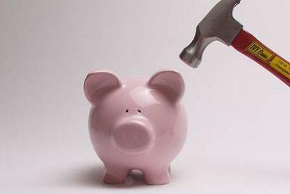 La tasa de ahorro de los hogares cayó hasta el 7,6% en el tercer trimestre de 2012