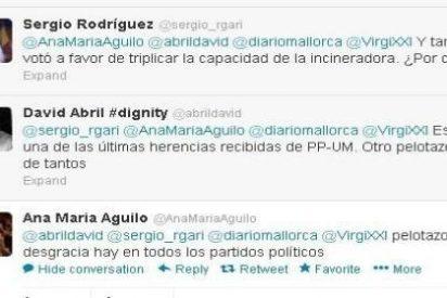 """Una diputada del PP 'reconoce' en Twitter que ampliar Son Reus fue un """"pelotazo"""""""