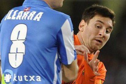 El soberbio Barça de Messi se pega un batacazo contra la Real en San Sebastián