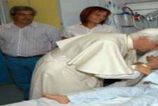 """Benedicto XVI: """"El rostro de los que sufren es también el de Cristo"""""""