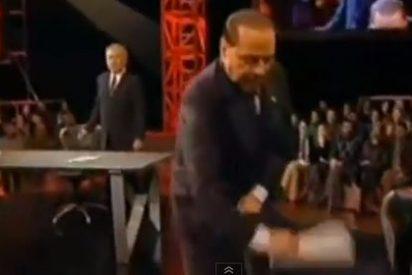 La penúltima payasada mediática de Berlusconi