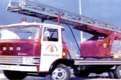 Roban a los Bomberos de Palma su camión más antiguo y nadie sabe cómo ha sido