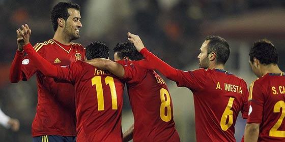 Mediaset 'se refuerza en el mercado invernal' con los partidos de clasificación de la Selección Española para el Mundial de 2014