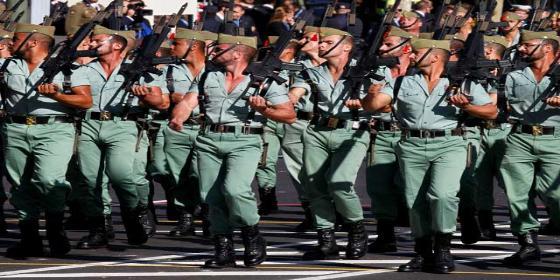 Casi 2.500 soldados 'desfilaron' por las oficinas del paro en el último semestre del pasado año