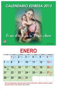 Calendario Mariano.Calendario Mariano 2013 Periodista Digital