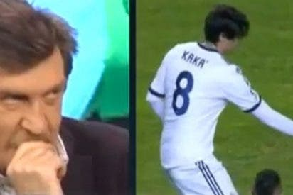 """Iñaki Cano: """"Kaká es un pesetero. ¡Vete a tu casa!"""""""
