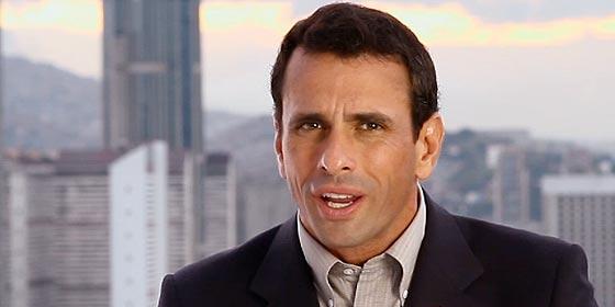 """Capriles: """"El pueblo venezolano votó por Chávez, no por Maduro ni los ministros"""""""