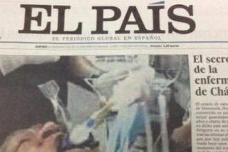 El País 'se come' una foto falsa de Hugo Chávez y el diario retira su edición en papel