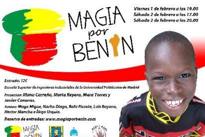 Magia por Benín: Un buen espectáculo por una causa mejor