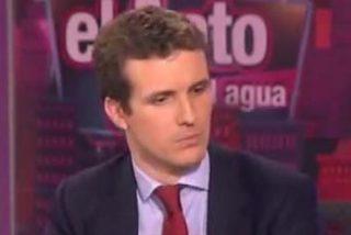 """Pablo Casado: """"No hubieran llegado tan lejos contra Carromero si medios irresponsables no hubieran publicado el falso listado de multas"""""""