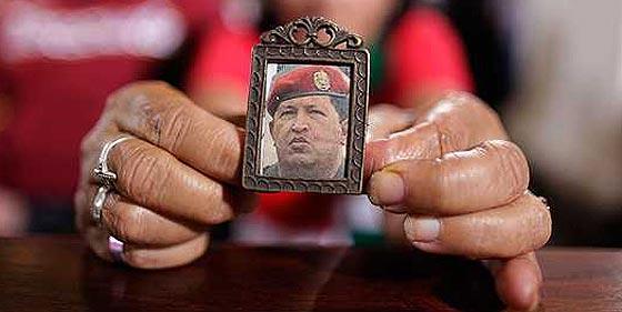 """Lo que supuestamente dice Hugo Chávez: """"Estoy aferrado a Cristo y a la vida"""""""