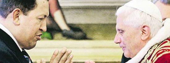 """El Papa pide a los venezolanos que """"tengan confianza"""" ante un futuro sin Hugo Chávez"""
