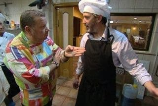 """Chicote casi se pega con un cocinero: """"¡Vete a tomar por culo! ¡Fuera de mi restaurante!"""""""