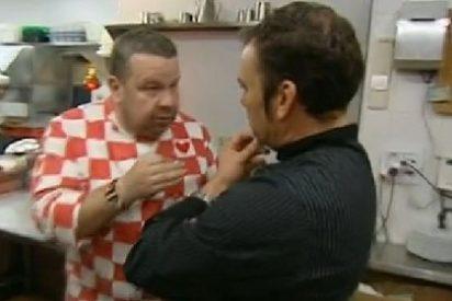 """Chicote enloquece como nunca contra un cocinero inútil que se cree 'el puto amo': """"Eres un monstruo ¡Me tienes hasta los cojones! ¿Así tratas tú a tu mujer?"""""""