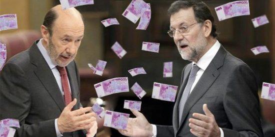 Los partidos presentes en el Congreso se repartieron 67 millones de euros en subvenciones en 2012