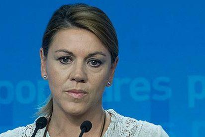 El PP niega que Cospedal gane 158.000 euros anuales como asegura el PSOE