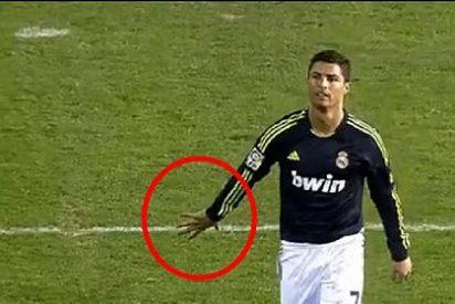 La 'manita' que un cabreado Cristiano Ronaldo le enseñó al portero del Valencia
