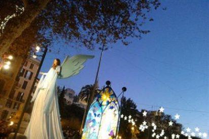 Miles de niños reciben a los Reyes Magos en Palma flanqueados por los Gegants