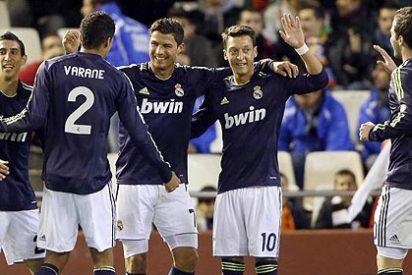El Real Madrid humilla al Valencia con una manita (0-5) en el 'fortín' de Mestalla