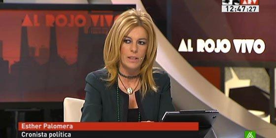 """Esther Palomera: """"Villanueva ha sido víctima de una campaña mezquina de algunos medios"""""""