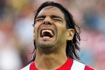 El Atlético de Madrid gana al Levante y se pone a 8 del Barça, pero pierde a Falcao