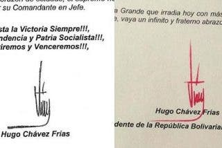 Ni foto ni voz ni vídeo de Hugo Chávez, sólo una sospechosa carta con firma roja