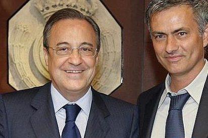 """Florentino Pérez: """"La información de Marca es falsa. No ha habido ultimátum por parte del vestuario para que Mourinho no siga"""""""